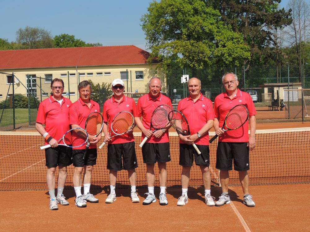 Die Herren-60-Mannschaft 2015